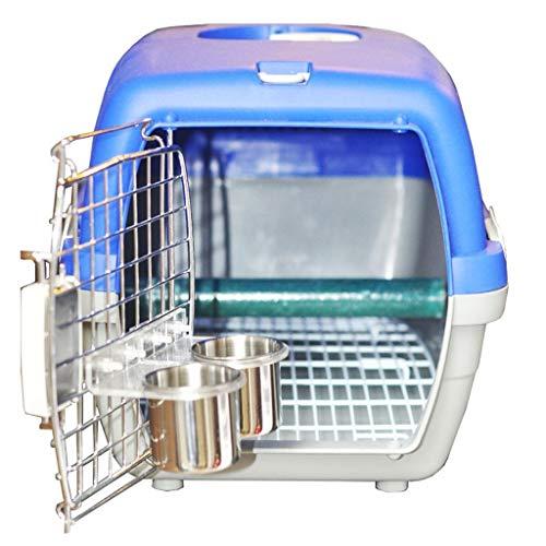 Hjd-Pet Nest Hochwertiger Kunststoff heraus Box Air Box Tragbare Box Komfortable Vogelkäfig Papageienkäfig Vogel heraus Tasche Große Trompete (Größe : 54cm*36cm*33cm)