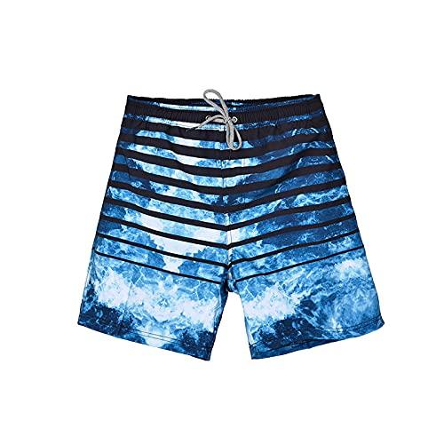 Pantalones Cortos de Verano para Correr para Hombre Pantalones Cortos de Gimnasio Activos Transpirables de Secado rápido para Entrenamiento, Entrenamiento, Trotar, con Bolsillo S