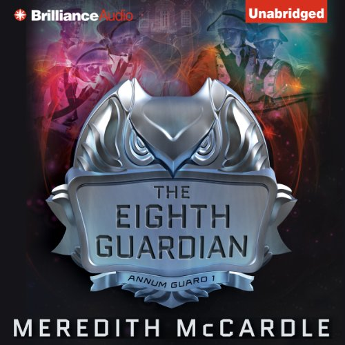 The Eighth Guardian     Annum Guard, Book 1              By:                                                                                                                                 Meredith McCardle                               Narrated by:                                                                                                                                 Amy McFadden                      Length: 11 hrs and 21 mins     162 ratings     Overall 4.2