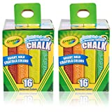 Crayola Sidewalk Chalk 16 CT. Pack of 2