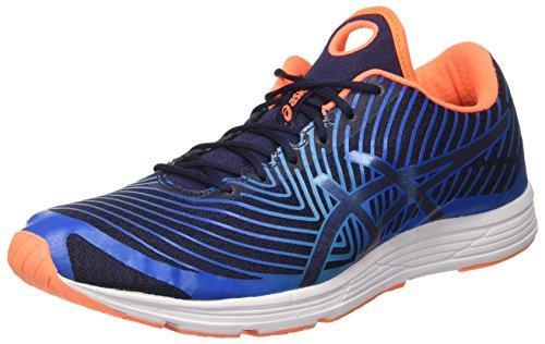 ASICS Herren Gel-Hyper Tri 3 Triathlonschuhe, Blau (Directoire Blue/Peacoat/Hot Orange), 42.5 EU