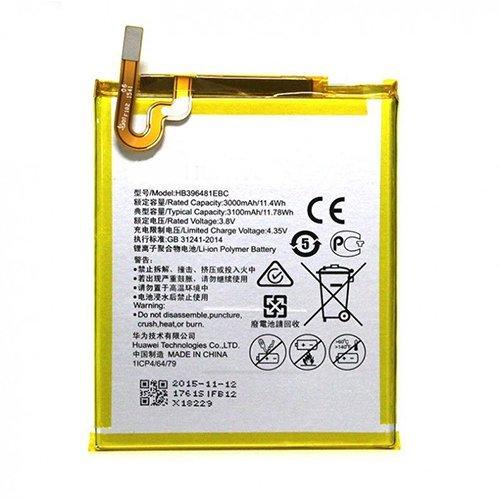 Todobarato24h Bateria Compatible con Huawei HB396481EBC Honor 5X, Compatible con Huawei G8, GX8, G7 Plus, Y6 II 2 3000 mAh Voltaje 3.8v