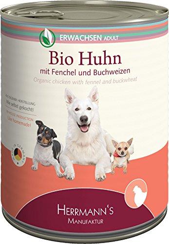 Herrmanns Huhn mit Fenchel und Buchweizen, 6er Pack (6 x 800 g)