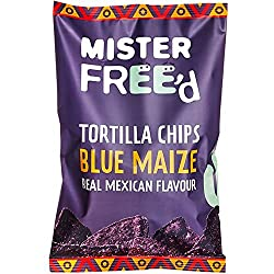 Mister Free'd Tortilla Chips With Blue Corn 135g x 12