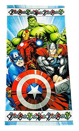 Toalla Avengers Microfibra 70x140cm Vengadores Marvel