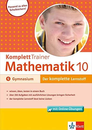 Klett Komplett Trainer Mathematik, Gymnasium Klasse 10: Buch mit Online-Übungen
