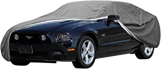 OxGord Signature Car Cover - 100 Water-Proof 5 Layers - True Mastepiece - Ready-Fit Semi Glove Fit - Fits up to 204 Inches