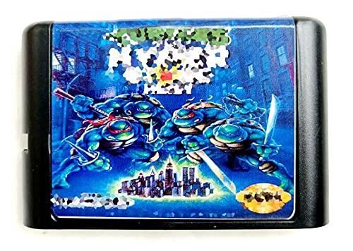 CMDZSW Tarjeta de Memoria de 16 bits for Sega Mega Drive 2...