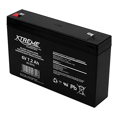 Xtreme - batería de gel (6V 7,2Ah)
