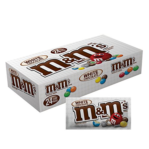 American M&M White Chocolate - Box of 24