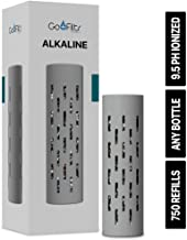 GOFILTR Alkaline | Create All-Natural 9.5ph Ionized Mineral Alkaline Water with Electrolytes in Any Water Bottle. Made in California.