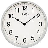 AMS Uhrenfabrik Reloj, Plateado, 30 x 3 x 480 cm