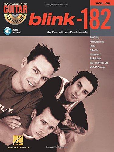 Guitar Play Along Volume 58 Blink 182 Guitar Tab Book/Cd