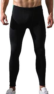 ZKOO Termico da Uomo Lunghi Pantaloni Termici Stretto Intima Termica Sottile Caldo Legging