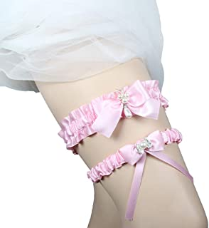 3744a56f236 Eliffete 2019 Luxury Throw Away and Keep One Lace Wedding Garter Set for  Brides