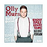 Sänger Olly Murs Right Place Right Time Leinwand Poster
