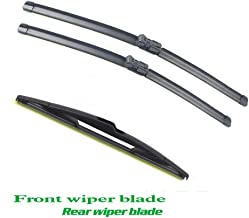 LUVCARPB Car Front and Rear Wiper,Fit for Peugeot Partner 2008-2016