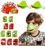 CoutureBridal St. Patrick's Day Funny Family Game Adults Kids Interactive Toys, Catch Bug Tic Tac Tongue Game Desktop Board Game Lizard Tongue Eating Pest Game Novel Toys Games for Kids Ages 4-12