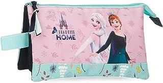 Disney Frozen Arendelle is Home Estuche Triple Azul 22x12x5 cms Poliéster