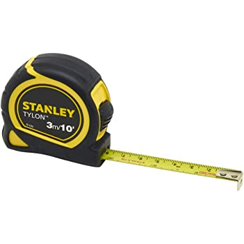 Bi-material case for improved grip 3M TAPE MEASURE X 1 10FT