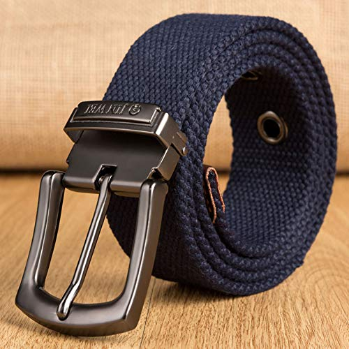 DHDDJS Weave Canvas Belt Unisex Militaire Workout Casual Jeans Merk Belt Needle Buckle-Belt Mannelijke Tactische Taille Belt