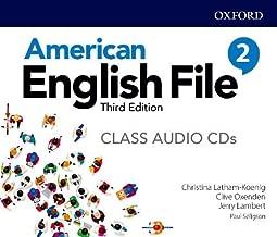 American English File: Level 2: Class Audio CD X5