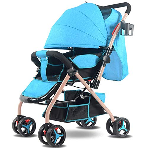 Why Should You Buy DZFZ Strollers for Toddlers Two-Way Implementation of Lightweight Folding Shock A...