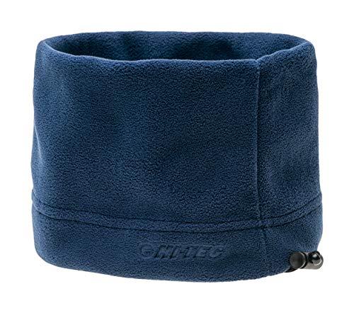 Hi-Tec ARAS - Scaldacollo Multifunzione in Pile, per Uomo e Donna, Taglia Unica, Colore Blu