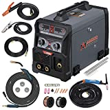 Amico MTS-205, MIG/Flux Cored Wire, Lift-TIG, Stick Arc DC Inverter Welder 3-IN-1 Combo Welding, 115V & 230V Dual Voltage.
