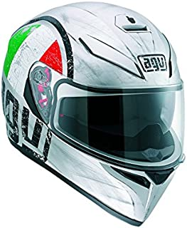 AGV K3 SV Scudetto Motorcycle Helmet X-Small DOT-Approved
