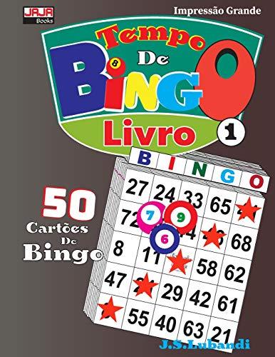 Tempo De BINGO; Livro 1 (50 cartões de bingo)