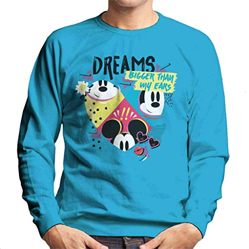 Disney Mickey Mouse Dreams groter dan mijn oren mannen trui