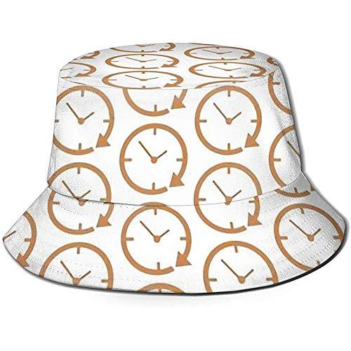 Preisvergleich Produktbild Well I do! Bucket Hat Sonnenhut für Männer / Frauen,  Wecker mit breiter Krempe