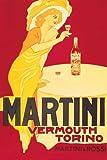 Martini - Vermouth Torino - Retro Plakat Druck - Poster