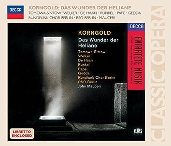 Korngold: Das Wunder der Heliane