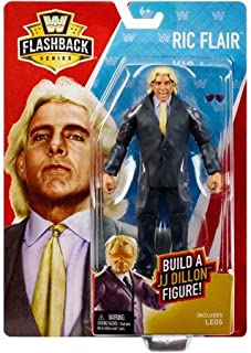 WWE Basic Flashback Series Exclusive WCW RIC Flair Action Figure (Build a Figure JJ Dillon) …