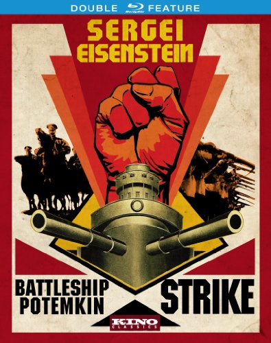 Sergei Eisenstein: Double Feature (Battleship Potemkin & Strike) [Blu-ray]