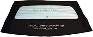 Sierra Auto Tops Chevrolet 1994-2002 Camaro/Firebird Convertible Top, Stayfast Canvas, Black
