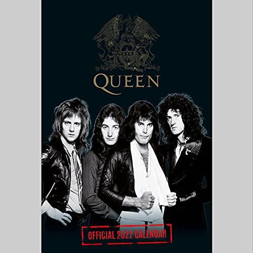 Queen 2022 - A3 Format Posterkalender: Original Danilo-Kalender (The Official Queen A3 Calendar 2022)