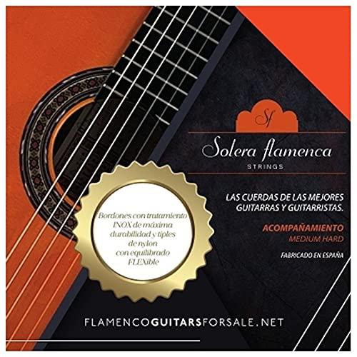 Set de Cuerdas para guitarra Solera Flamenca STRINGS ACOMPAÑAMIENTO