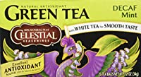 海外直送品Green Tea, Decaf Mint (case of 6) / 20 Bags by Celestial Seasonings