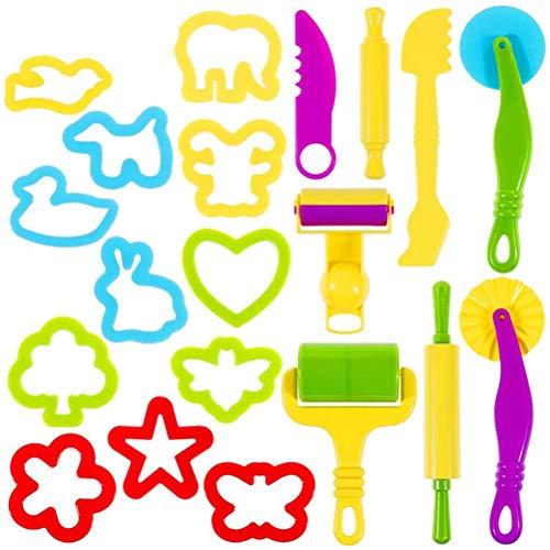 Yorimi Random Color - Juego de 20 herramientas para jugar a juegos infantiles, juego de herramientas para jugar