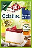 Speisegelatine vom Schwein: Zum Binden und Festigen von Süßem oder Deftigem - ob Gelieren, Verdicken, Stabilisieren oder Emulgieren - unsere Gelatine ist ein wahres Multitalent Vielseitige Einsatzmöglichkeiten: Die RUF Bio Gelatine dient der Fertigun...