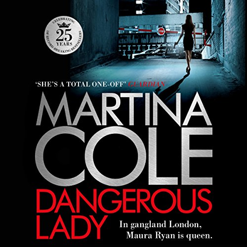 Dangerous Lady audiobook cover art