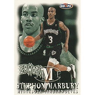 1998 Skybox #90 Timberwolves Stephon Marbury Basketball Card. #G105