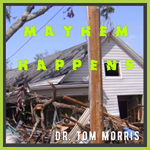 Mayhem Happens audiobook cover art