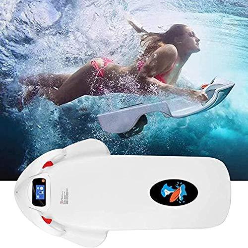 Cooryda Tabla de surf F2 para adultos, tabla de surf eléctrica con batería de carga rápida de 12AH y pantalla LCD, velocidad de superficie del agua: 5-15km/h
