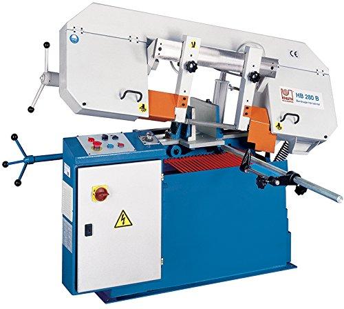 KNUTH Halbautomatische Bandsägemaschine HB 280 B , Zuverlässige Horizontalbandsäge mit einfacher Gehrungsverstellung 152797
