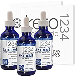 professional Creative Bioscience 1234 Diet Drop Extreme – Slimming Drop with Amino Acid Complexes Important for Keto…