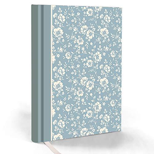 """LifeDesign Notizbuch """"Trentino"""" DIN A5 Skizzenbuch Tagebuch Bullet-Journal 192 Seiten blanko, Premium-Papier 90g, elegantes cremeweiss, FSC- und EU-Ecolabel"""